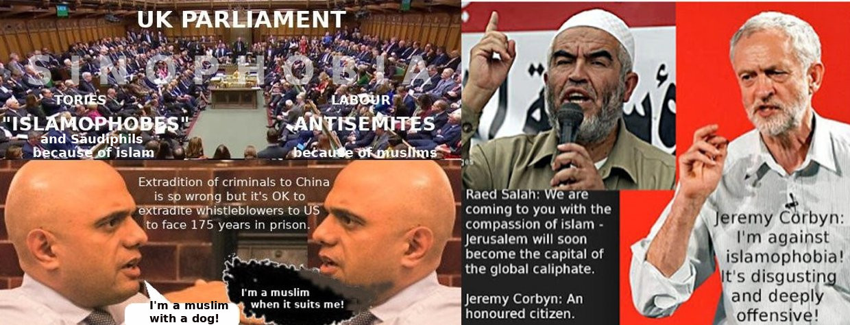 UK's islamic and Sinophobic Parliament