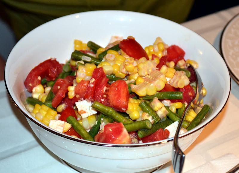Corn and Tomato Salad with Fresh Mozzarella ~ New York Food Journal