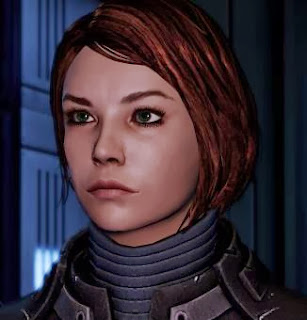 "Femshep, voiced in-game by Jennifer Hale, also known for her work on ""Green Lantern: The Animated Series"" (Carol Ferris), ""Injustice: Gods Among Us"" (Hawkgirl, Killer Frost), and ""The Avengers: Earth's Mightiest Heroes"" (Carol Danvers, Ms Marvel)"