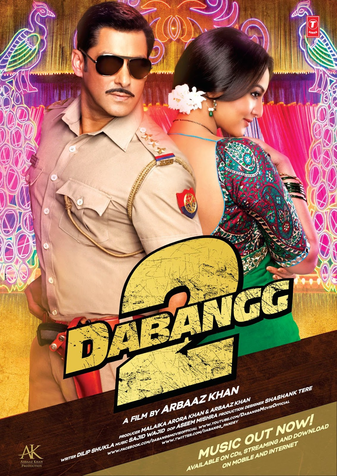 Dabangg 2 (2012) Dvdrip Watch Movie Online With Subtitle Arabic مترجم عربي