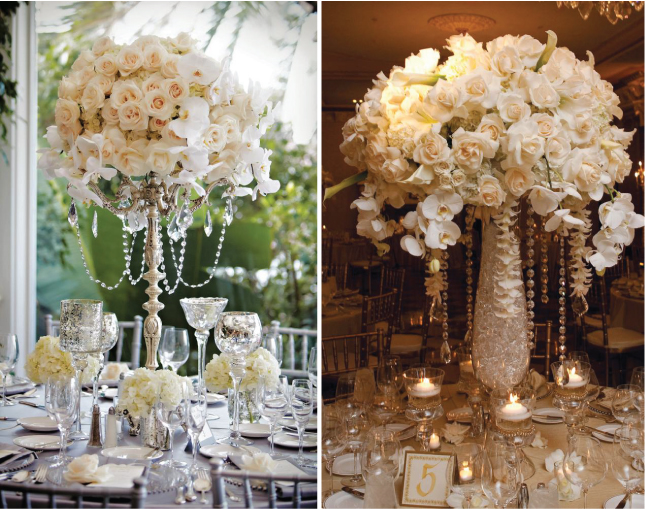 25 Stunning Centerpieces Part 3 Belle the Magazine The Wedding Blog