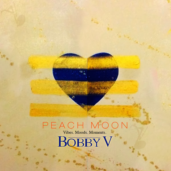 Bobby V - Peach Moon (ep) Cover