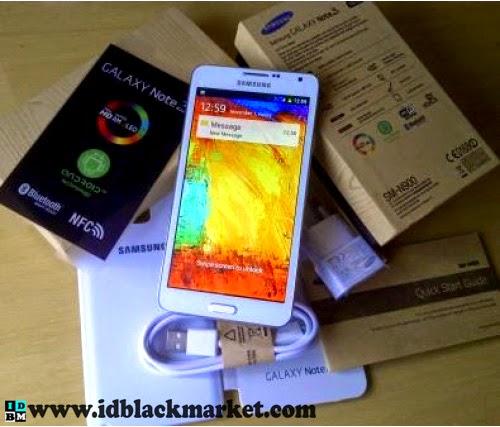 "Samsung Galaxy Note 3 Replika 5.5"" dualcore 6527 putih"