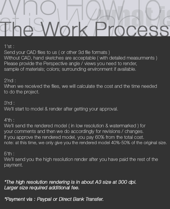 The Work Process