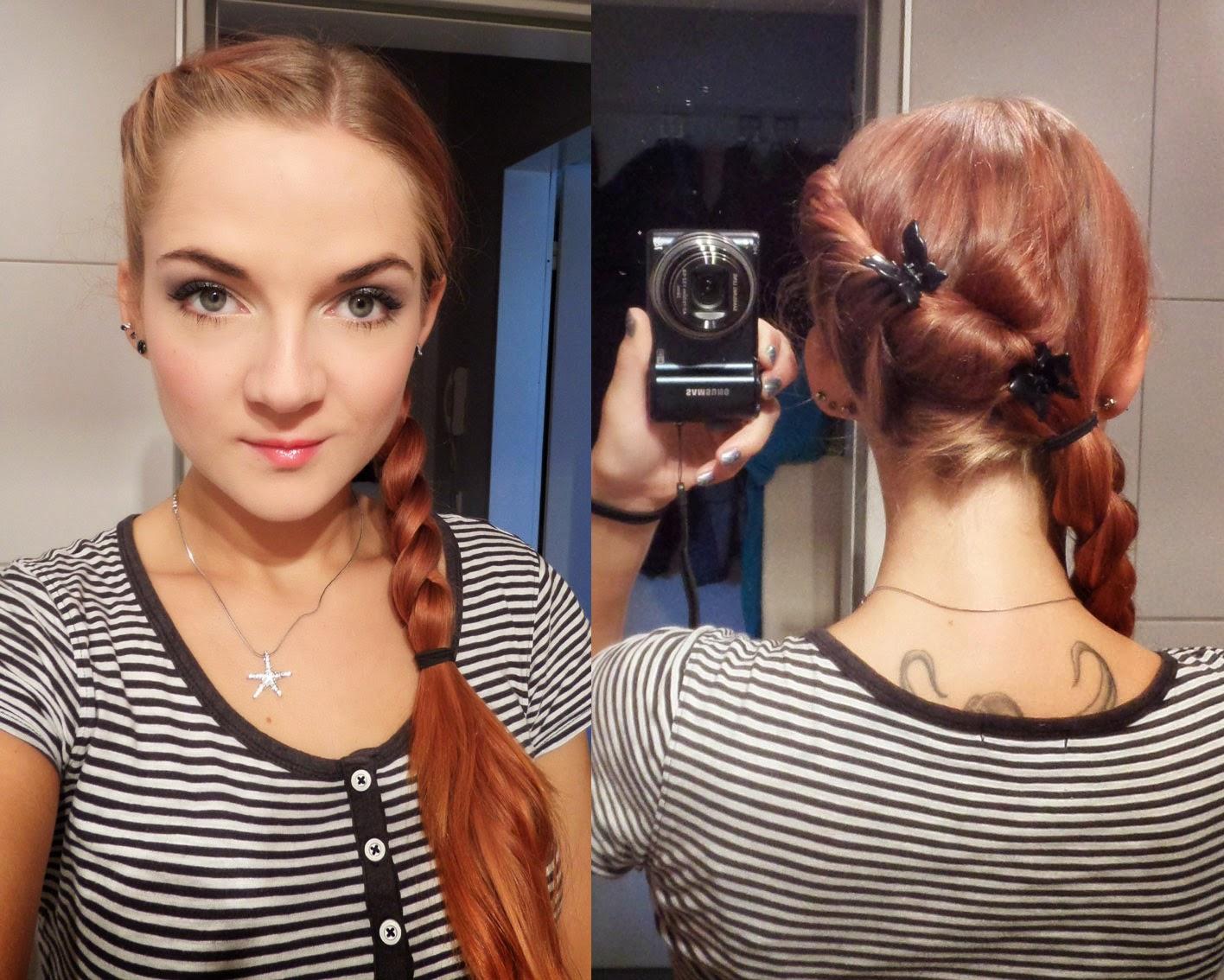 [Mädchenkram] Haare - Sonntagsfrisur 2