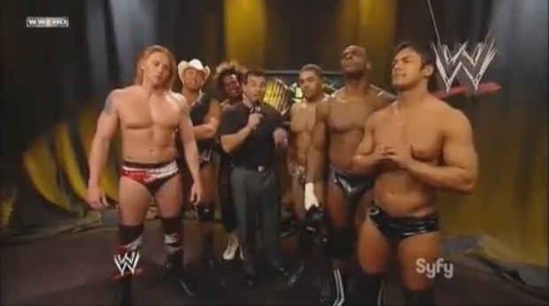 WWE NXT First Episode Season 1 Ending Matt Striker Rookies