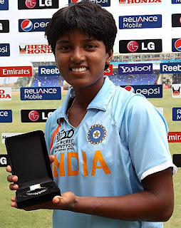 Poonam Raut Indian Women Cricketer