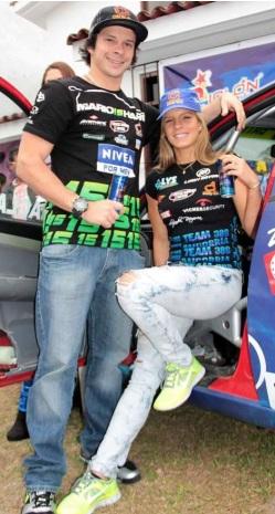 Alejandra Baigorria y Mario Hart en Cusco