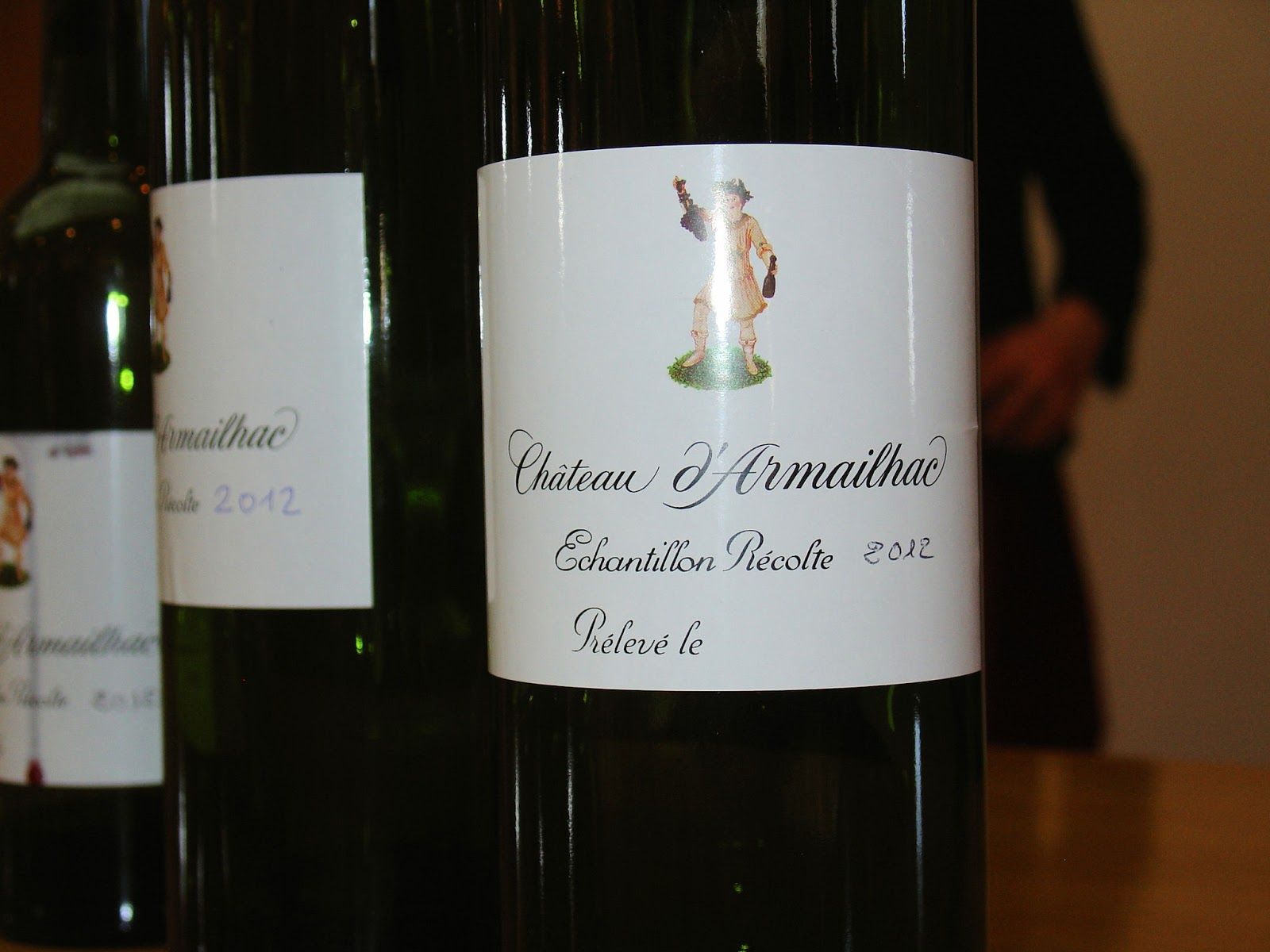 Wine-tasting vintages.