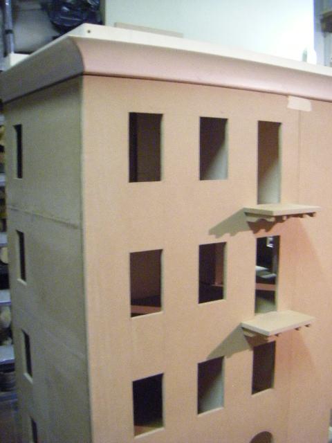 La casa rossa cornicione e balconi ledge and balconies - Cornicione casa ...