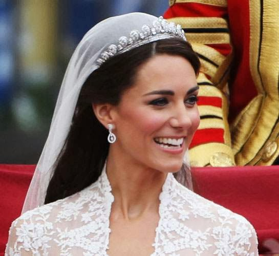 About William and Kate: Kate's Wedding Tiara to go on ...