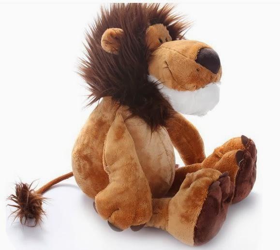bicho de pelúcia leão