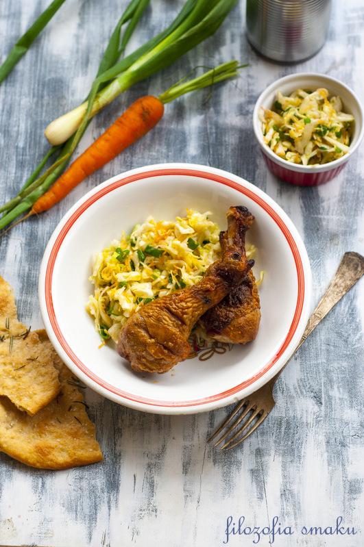 Kurczak z pastą curry przepis