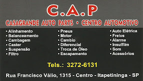 C.A.P CASAGRANDE AUTO PARTS CENTRO AUTOMOTIVO