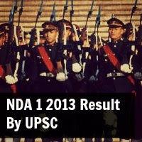 nda 1 2013 result