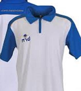 Uniforme Branco e Azul