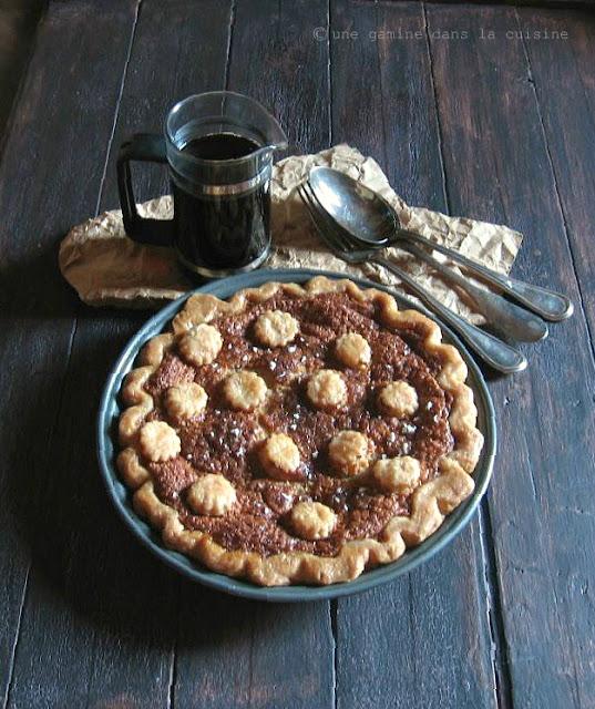 Brown Sugar Buttermilk Pie | une gamine dans la cuisine