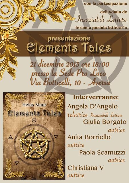 Presentazione Elements Tales