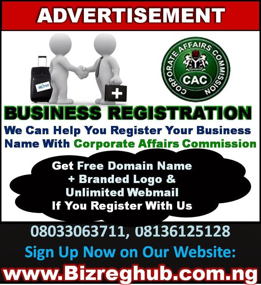 Reigister Your Business Name With CAC (Click banner for Details)