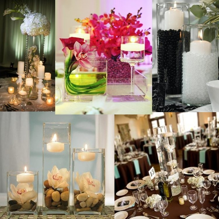 Wedding Reception Centerpieces Candles: Detroit Michigan Wedding Planner Blog: Budget Centerpieces