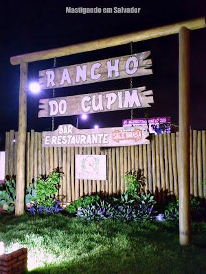 Rancho do Cupim: Letreiro