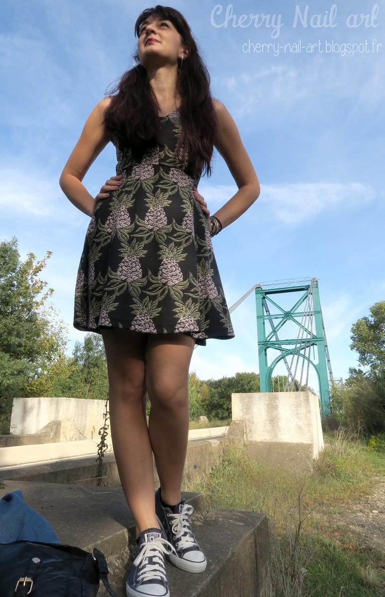 tenue mi saison 2015 robe ananas