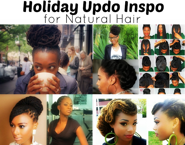 holiday hair natural hairstyles