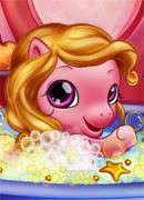 Купаем малышку Пони - Онлайн игра для девочек