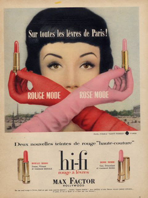 1950s Max Factor lipstick Just Peachy, Darling