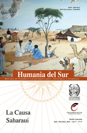 Humania del Sur No. 17 Jul/Dic