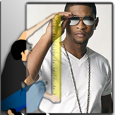 What is Usher Raymond IV Height?