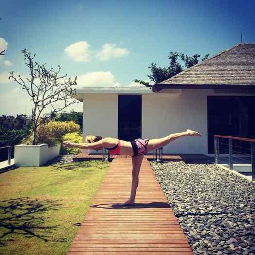 Cool Instagram Photos of Celebrities in Yoga Poses