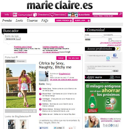 nery hdez, marie claire, snb blog, ootd