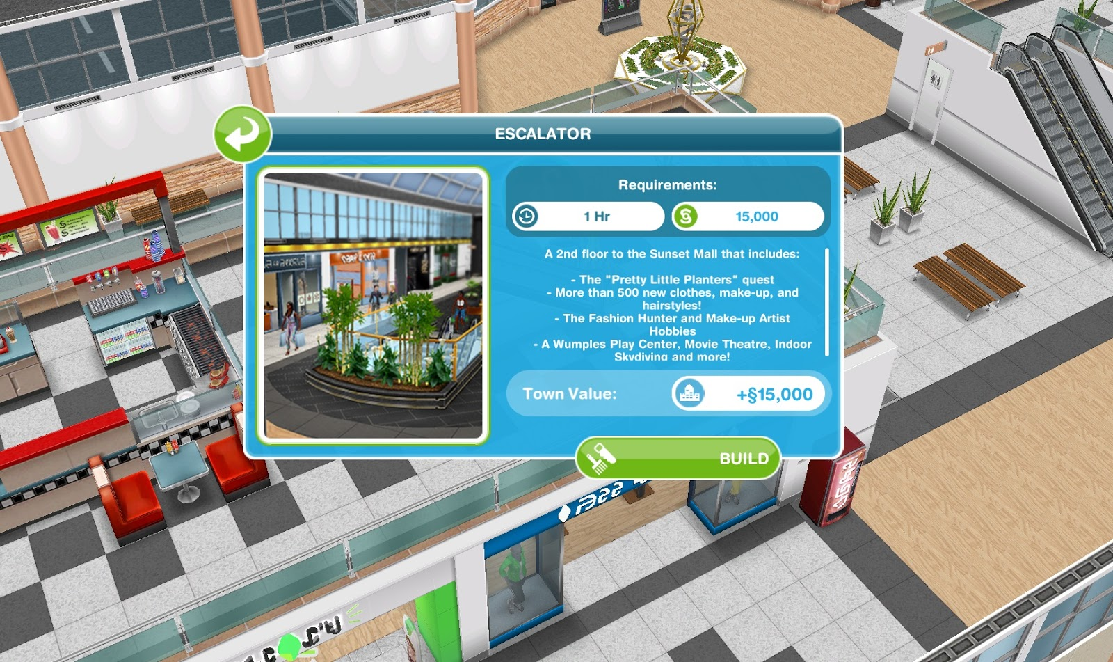 how to build a wall in sims freeplay