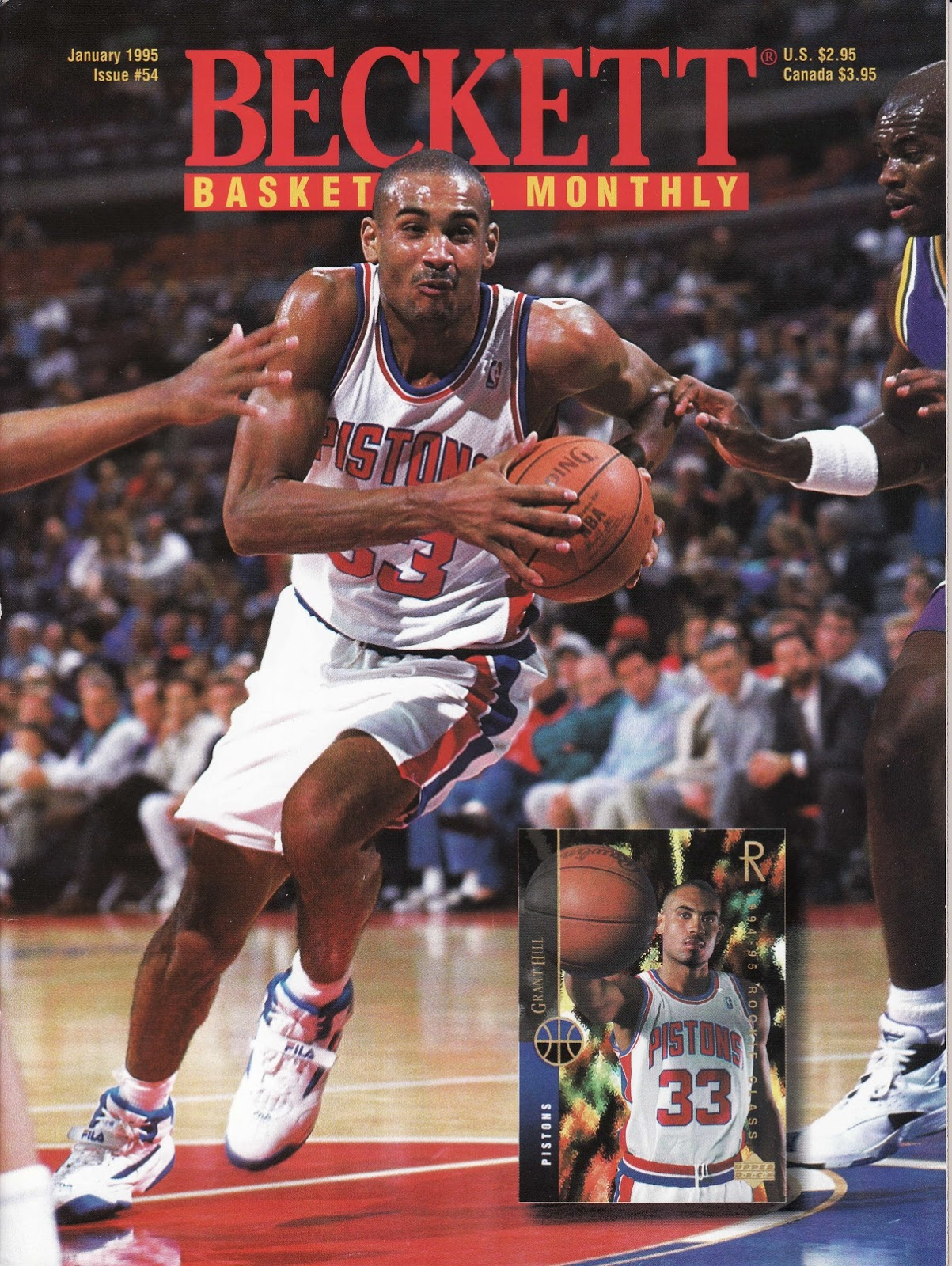 Grant Hill from Beckett Basketball Monthly