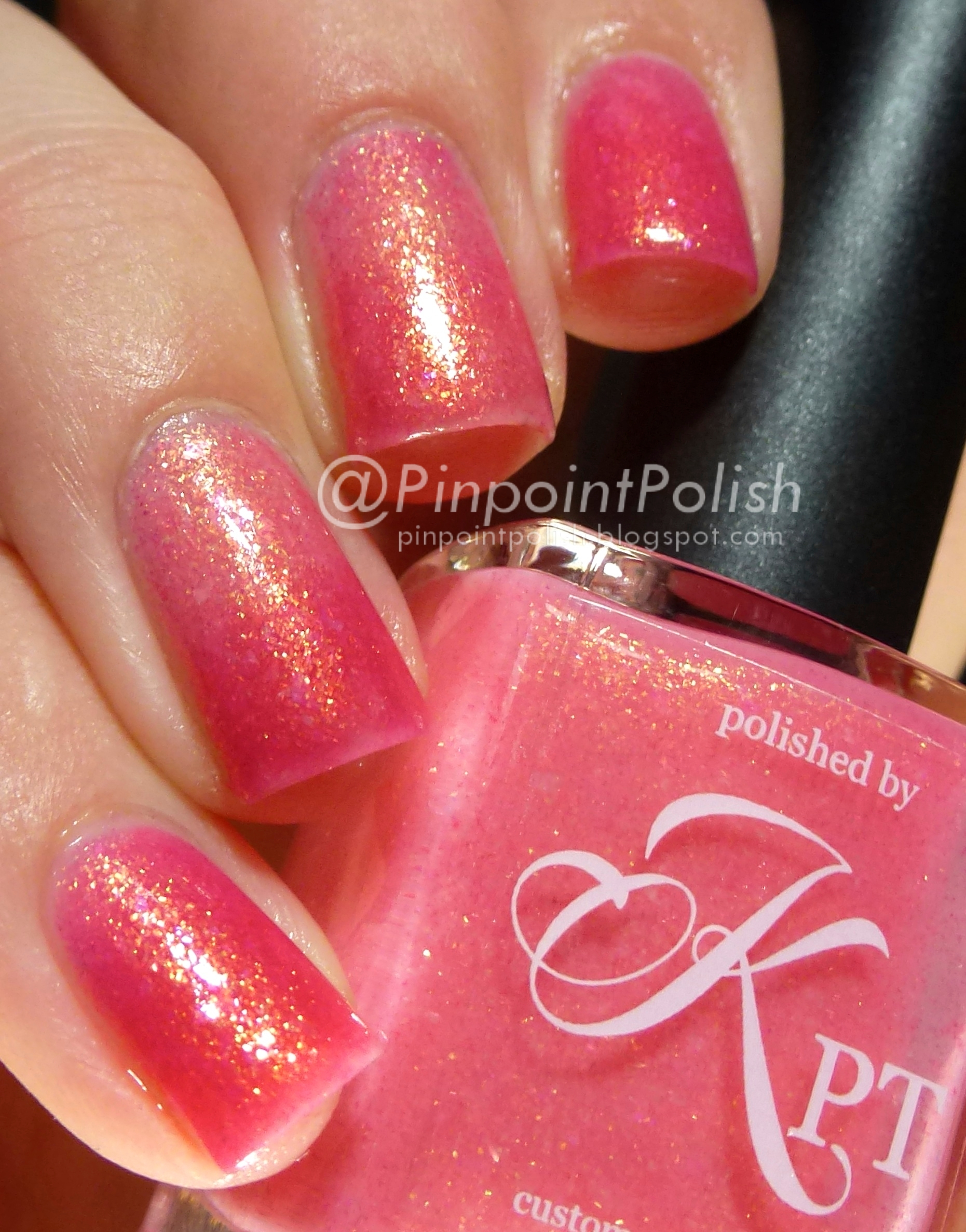 Polished by KPT, Blossoming, swatch