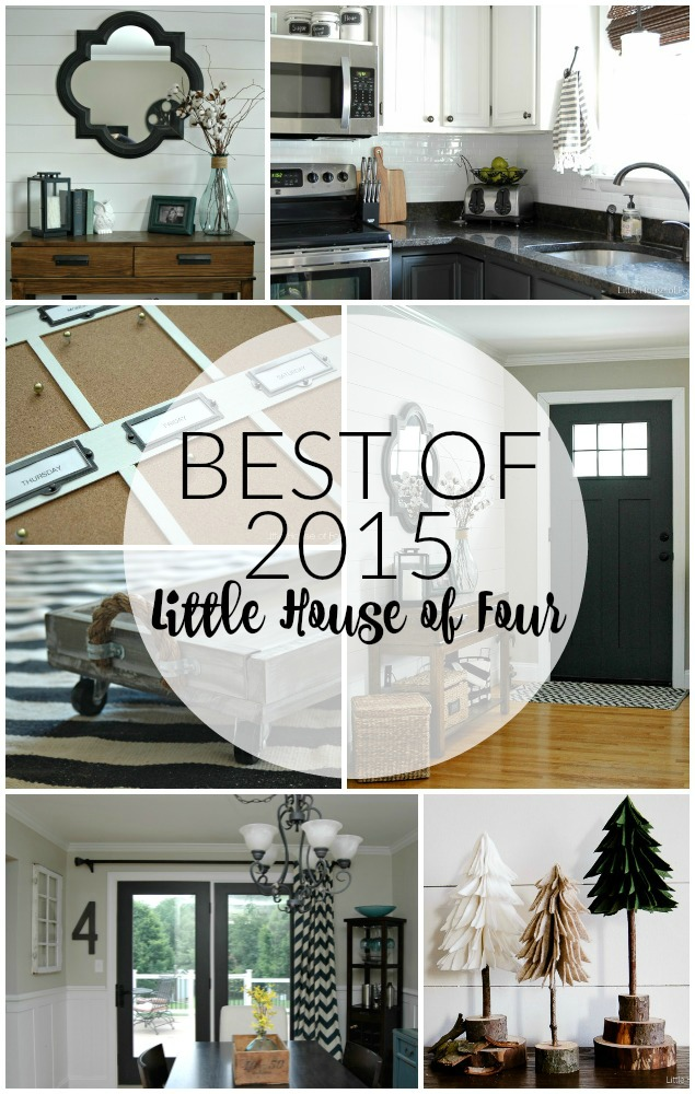 The best and most popular projects of 2015! Littlehouseoffour.com
