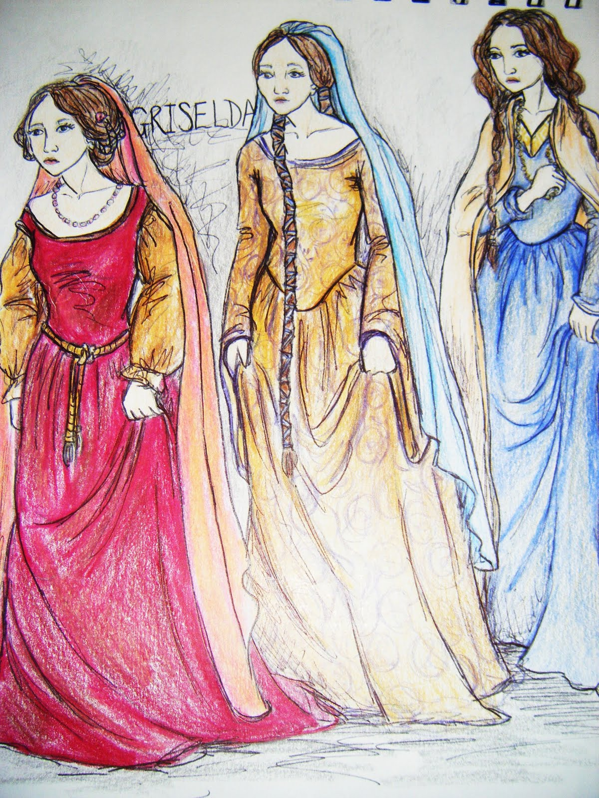costumes of canterbury tales What are the major sources of information about costume in the 14 th &  of gift  giving wills wedding contracts literary works o the canterbury tales 2.