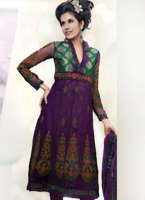 Indian Churidar Salwar Kameez For Party wears ~ Sexy Girls