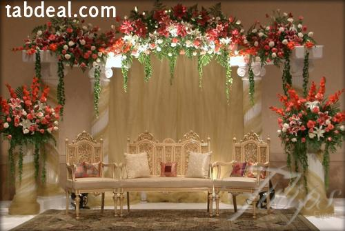 New year wedding and mehendi decor ideas for New wedding decoration ideas