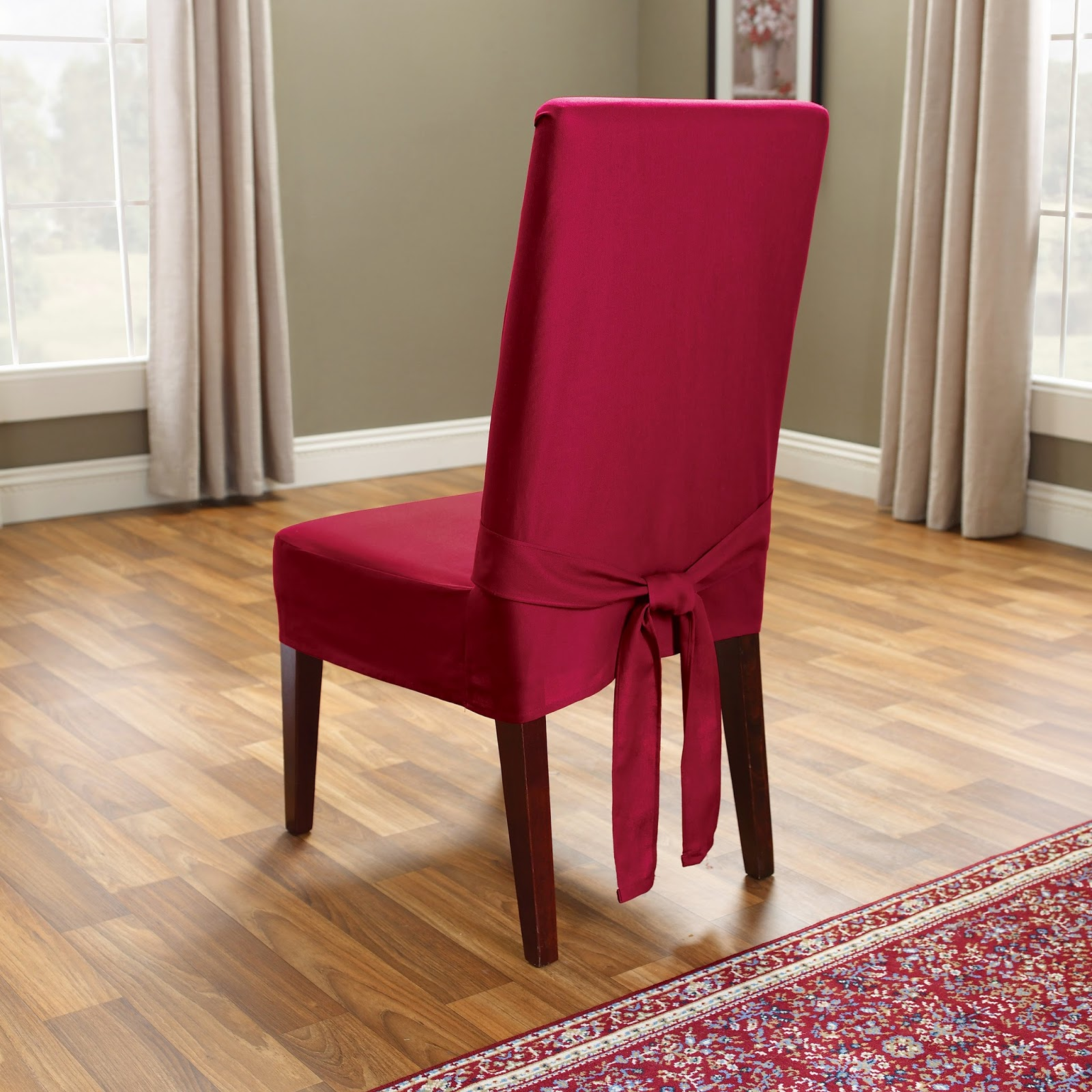 Red Dining Room Chair Covers Dining Chair Covers For Your Dining Room Instant Knowledge
