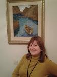 Montserrat Olaria Campos pintora y escritora