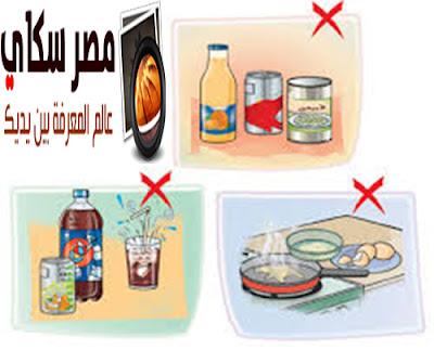 بعض الأضرار والأخطاء الغذائية الواجب التعرف عليها