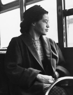 I found this wonderful article on Rosa Parks :)