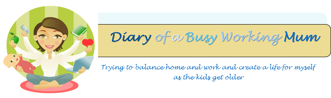 Diary of a Busy Working Mum