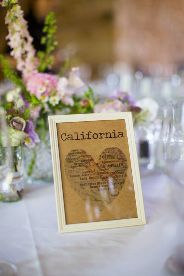 Table Names Wedding wedding - diy map heart table names and plan - roses and rolltops