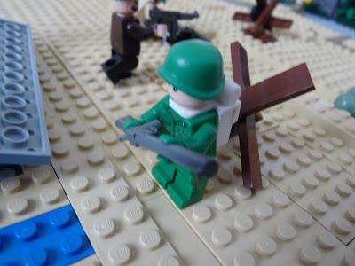 Lego - WWII D-day Omaha Beach