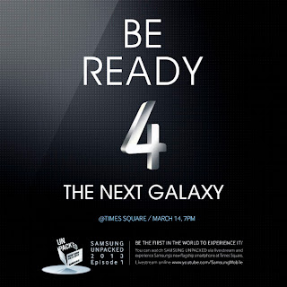 Samsung Be Ready 4 The Next Galaxy