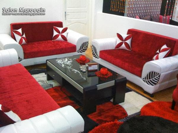 fauteuil salon salon marocain | Decoration marocaine