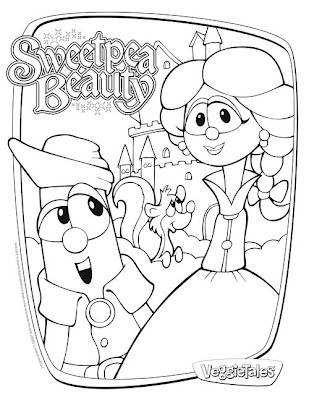 veggietales characters coloring pages - baby donald duck coloring pages
